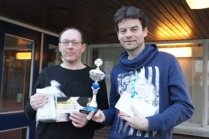 Tweede prijs HD Cor maas en Tonnie Muijen